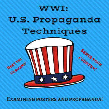 Propaganda through WWI Posters