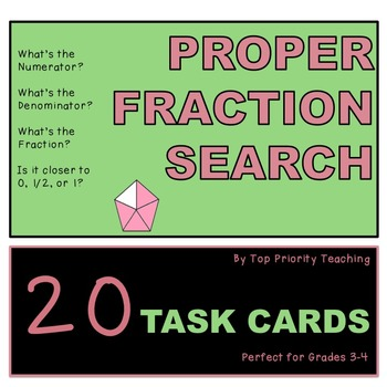 Proper Fraction Search