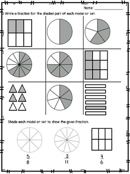 Proper Fractions Small Group Lesson