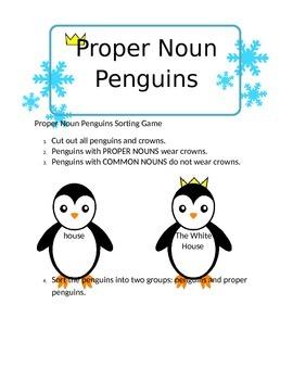 Proper Noun Penguins
