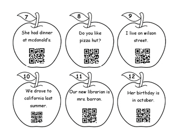 Proper Noun QR Codes