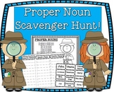 Proper Noun Scavenger Hunt