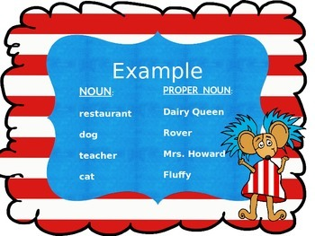 Proper Nouns Power Point