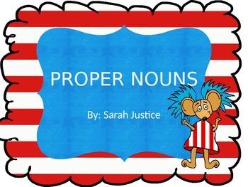 Proper Nouns Power Point