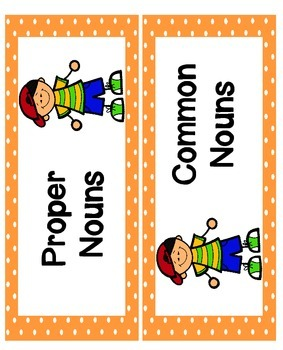 Proper Nouns Activities