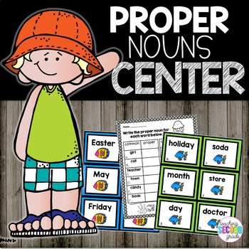 Proper Nouns Literacy Center