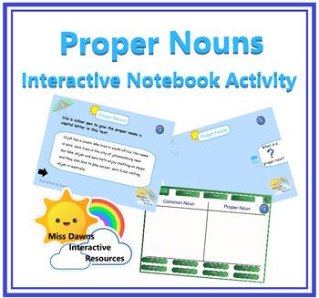 Interactive Proper Nouns Activity for IWB
