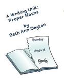Proper Nouns - A Writing Unit
