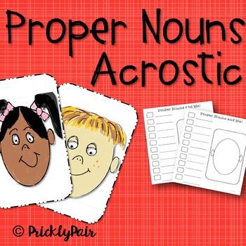 Proper Nouns Acrostic