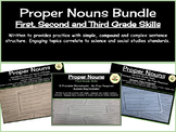 Proper Nouns Bundle - First, Second, and Third Grade Skills
