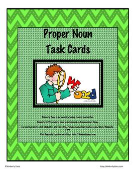 Proper Nouns/Capitalization Teach and Reach Bundle