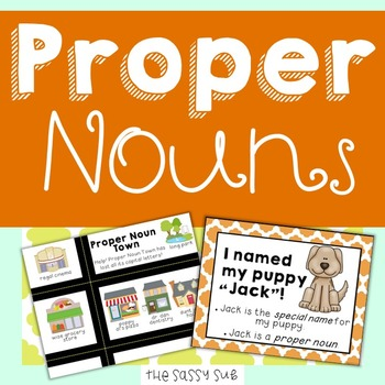 Proper Nouns: Teaching How, Why and When to Use Them