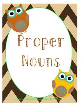 Proper Nouns Game