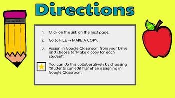 Proper Nouns: Google Slides Template! (Literacy Centers)