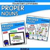Proper Nouns Grammar Kit {PowerPoint Posters Printables Ga