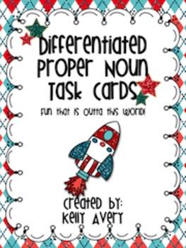 Proper Nouns:  Task Cards