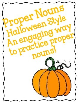 Proper Nouns - Halloween Style