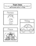 Proper Nouns Interactive Notebook
