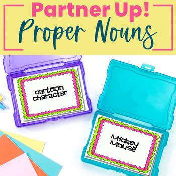 Proper Nouns - Partner Up! Game