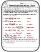 ALL Proper Nouns Places Practice Worksheet Capitalizing Proper Nouns Worksheets