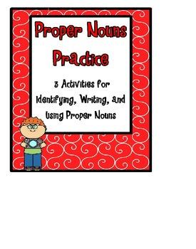 Proper Nouns Practice