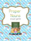 Proper Nouns Scoot- Common Core Aligned