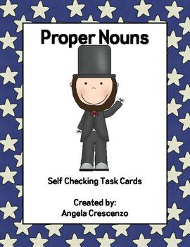 Proper Nouns Task Cards