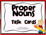 Proper Nouns Task Cards/Scoot Game
