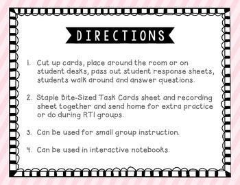 Proper Nouns Tiny Task Cards