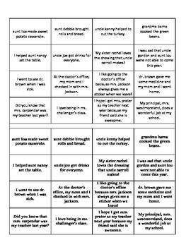Proper Nouns, Titles, and Abbreviations Student Activity