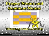 Proper Nouns and Common Nouns Thinking Links Activity #1 - King Virtue