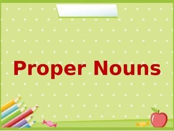 Proper Nouns ppt