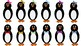 Propper Penguin Clipart