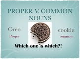 Proper V. Common Nouns