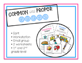 Proper and Common Noun Game