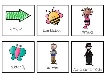 Proper and Common Noun Game