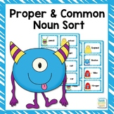Proper and Common Noun Monster Sort