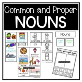 Proper and Common Noun Sort and Games