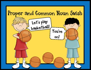 Proper and Common Noun Swish