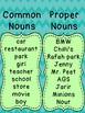 Proper- and Common Nouns