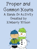Proper and Common Nouns A Hands On Activity