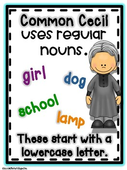 Proper and Common Nouns Anchor Chart