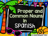 Proper and Common Nouns {Spanish}