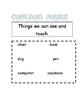 Proper nouns, common nouns and pronouns poster