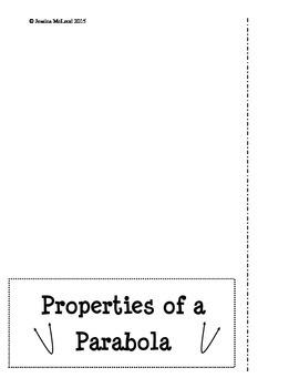 Properites of a Parabola Foldable