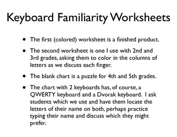 Keyboarding Practice Worksheets Worksheets for all | Download and ...