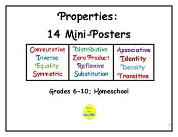 Properties: 14 Mini-Posters