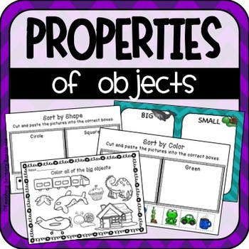 Properties of Objects Activities for Early Childhood