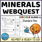 Minerals Webquest - Digital and Printable