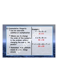 Properties Flipchart  - Great for Common Core